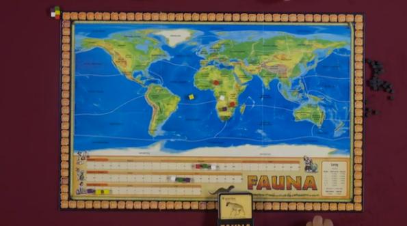 Il board di Fauna è semplicissimo da interpretare