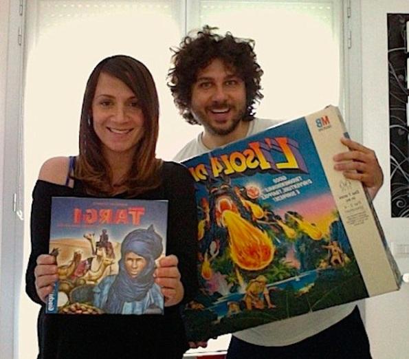 Tiziano e Maria ci mostrano i loro giochi preferiti