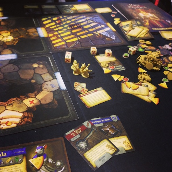 Mice and Mystics ha una gran bella componentistica