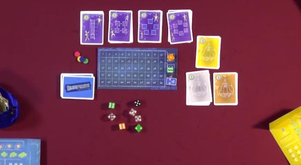 Una fase di gioco a Blueprints