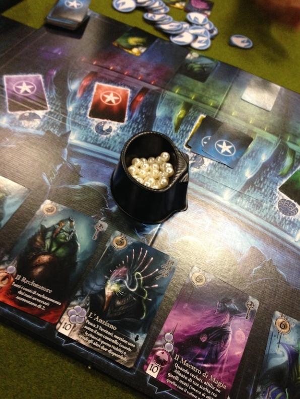 Una fase di gioco ad Abyss