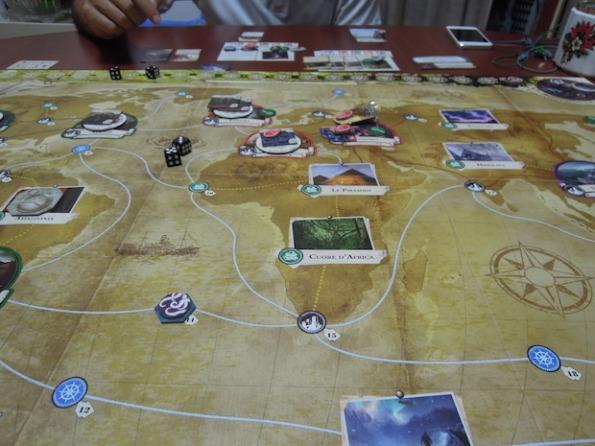 Il board di Eldritch Horror sposta la battaglia a livello globale