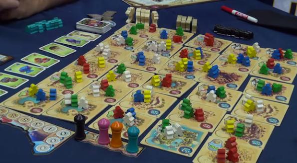 Five Tribes è uno dei giochi che sono usciti meglio dalla Gen Con 2014