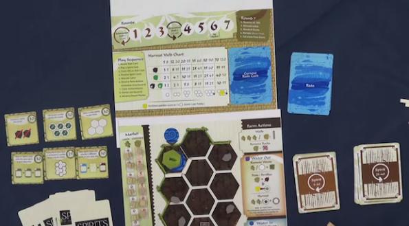 Spirit of the Paddy Rice è uno dei giochi più interessanti della Gen Con 2014