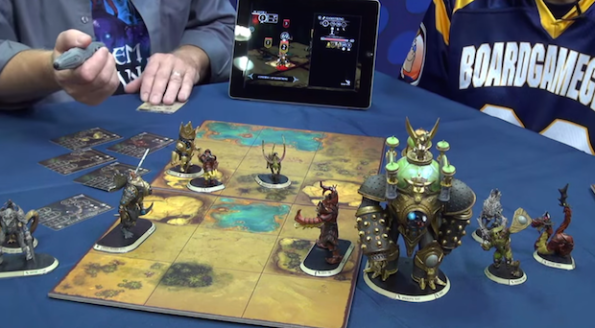 Goelm Arcana lo Skirmish con iPad