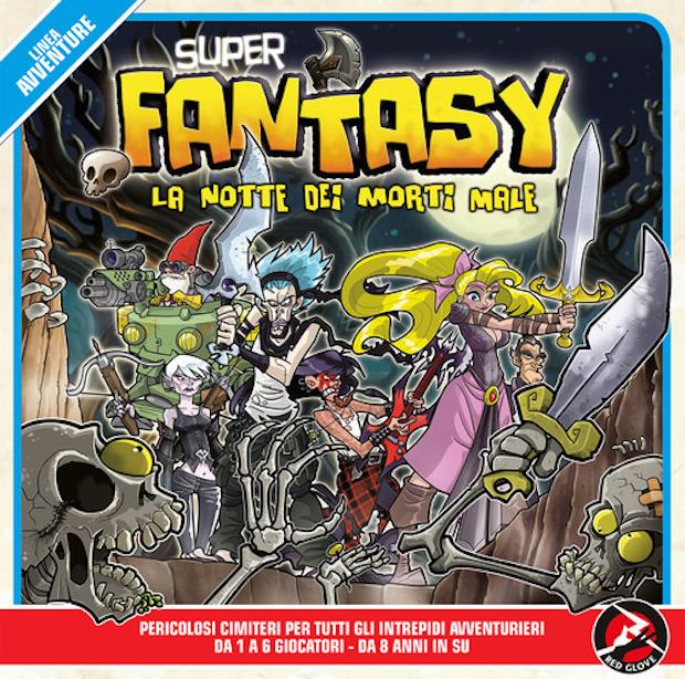La scatola del nuovo Super Fantasy