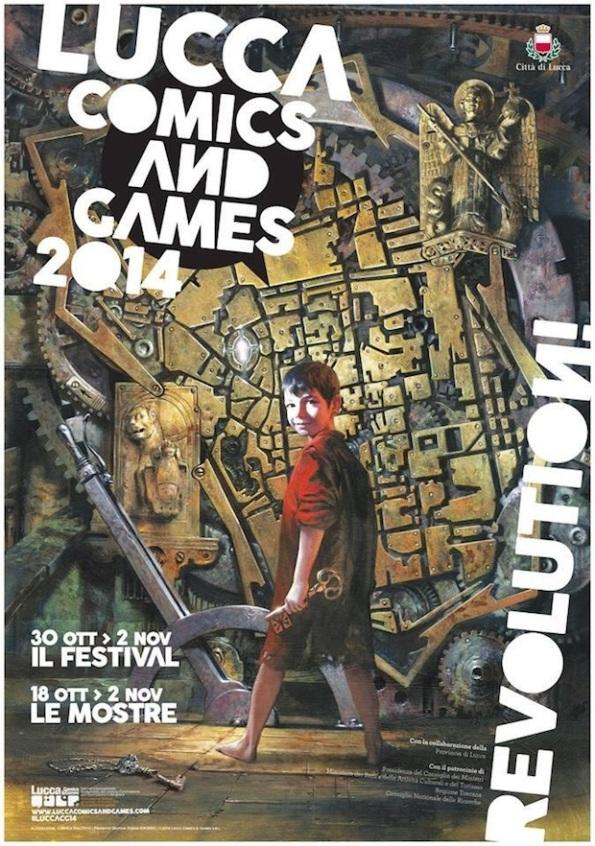L'immagine simbolo di questa edizione di Lucca Comics and Games 2014