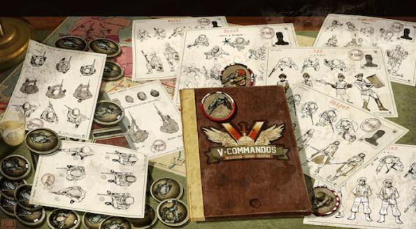 V-Commandos ha avuo successo su Kickstarter ed arriverà sui nostri tavoli