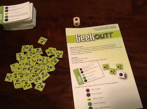 Poche cose nella scatola di Geek Out