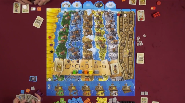Grog Island sul tavolo di Game Night