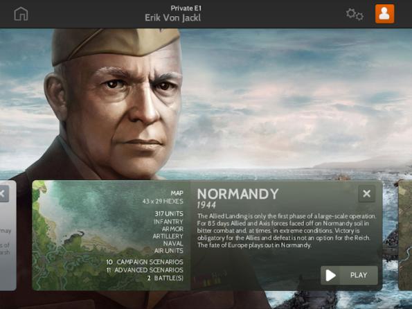 La campagna di Normandia è quella disponibile fin da subito