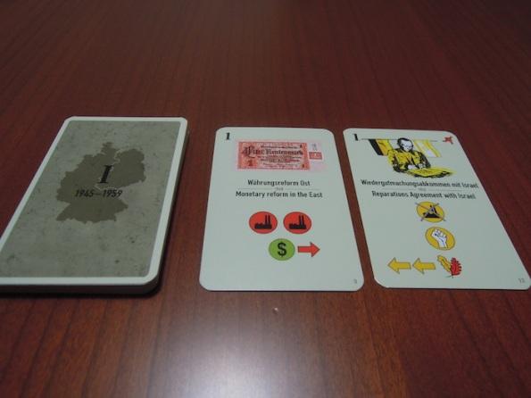 Carte Prima Era fronte e retro
